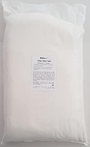 Totes Meersalz Feinstreu 0,2-1,0 mm, 25 kg aus Jordanien (Speisesalz/Badesalz)
