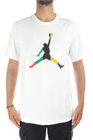 Nike M J SPRT DNA Jumpman Ss Crew Short Sleeve T-Shirt, Herren S weiß