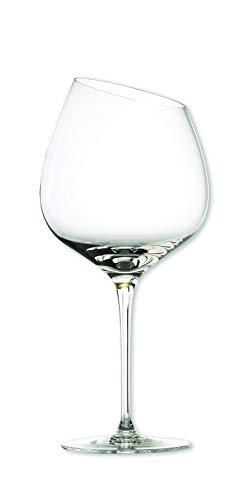 EVA SOLO 541002 Bourgogne - Copa de vino tinto (vidrio soplado, 500 ml, 5 cm), transparente