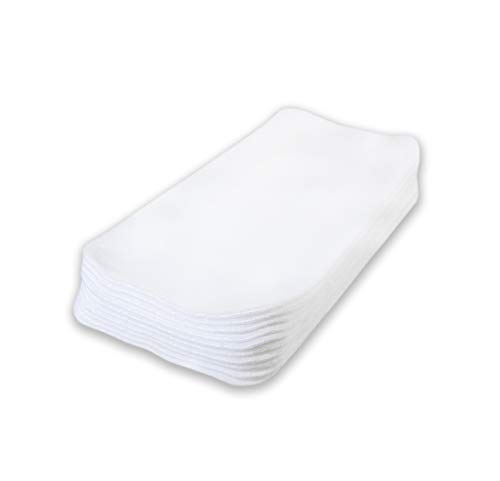 Petit Lulu Feuilles de protection polaires pour couches en tissu   Réutiliasble & Lavable   Fabriqué en Europe (Lot de 10)