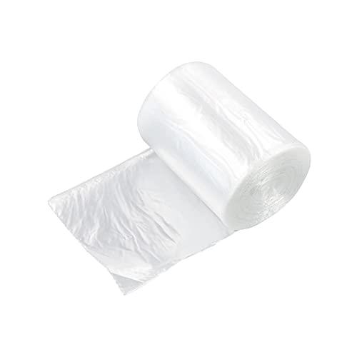 Xyskin Bolsas de basura (10 L, 100 bolsas/1 rollo), transparente