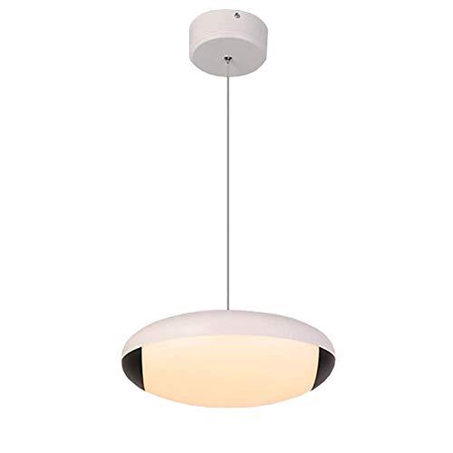 YIKUI LED Pendentif lumière, Mono-tête Acrylique et de Fer Abat-Jour Mordern décoratif, 30x30x8cm, Restaurant Chambre à Coucher Bar luminaire