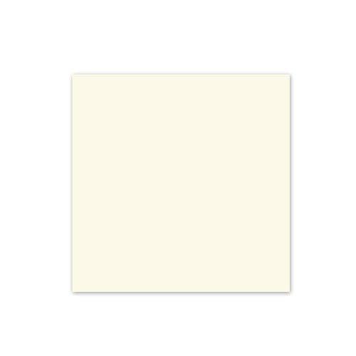 100 quadratische altweiße Einlegeblätter 15,7 x 15,7 cm, Munken Pure 90 g/qm (für quadratische Klappkarten 16 x 16 cm)