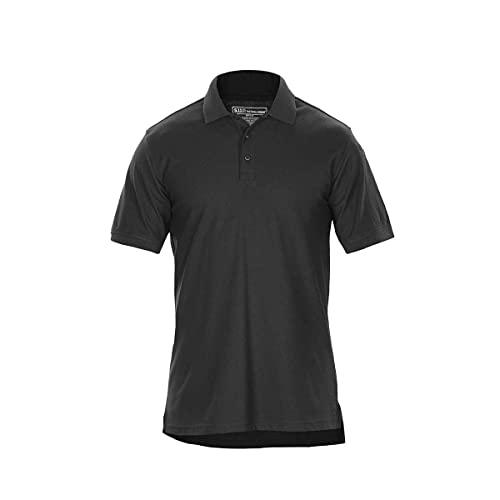 5.11 - Polo de Travail - Couleur Unie - Confortable - Respirant - 60% Coton 40% Polyester