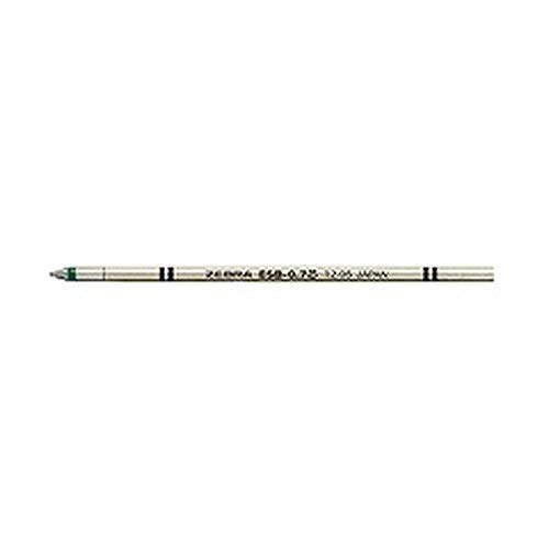 ゼブラ エマルジョンボールペン替芯 ESB-0.7 緑 RESB7-G 【5本】
