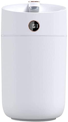 FDABFU Vaporizador 3L del difusor del Aceite Esencial del Aroma del humidificador de la Niebla del Aire Alimentado por USB, de Poco Ruido - Estilo B