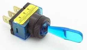 Philmore 30-12153 Auto Marine Blue 2021 spring and summer new half Toggle Switch Lighted