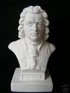 J.S. Bach Bust Halbe Statuette