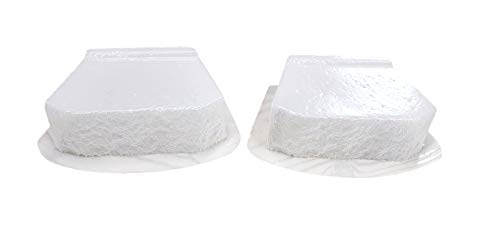 Textured Face Retaining Wall Block Concrete Mold Set of 2 3001
