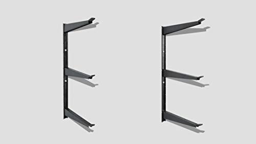 Delta Cycle & Home HDRS1000 Heavy Duty Shelf, Gun Metal Grey