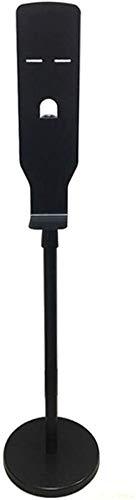 ZYLHC Permanent Automatische handdesinfectiemiddel Dispenser, roestvrij staal Verstelbare Mobile zeepdispenser Stand Touchless for Office School Openbare Ruimte Foam