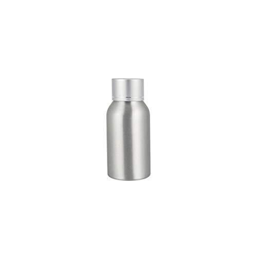AchidistviQ Trinkflasche aus rostfreiem Aluminium, geeignet für Lotion, Toner, Angeln, Futter, Aluminium, 40ml
