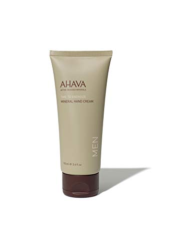 AHAVA Men's Mineral Hand Cream, 100 ml