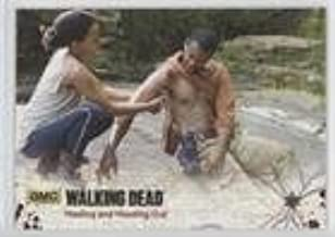 Healing and Heading Out #/25 (Trading Card) 2016 Cryptozoic The Walking Dead Season 4 Part 2 - [Base] - Gold Foil #34