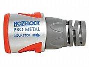 Conector AquaStop de metal por Hozelock