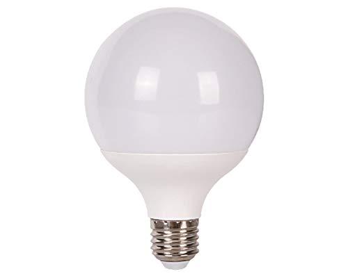 Jandei - E27 Ampoule LED G95, 15W=100W, Blanc Froid 6000K, 1500 Lumen [Classe énergétique A]
