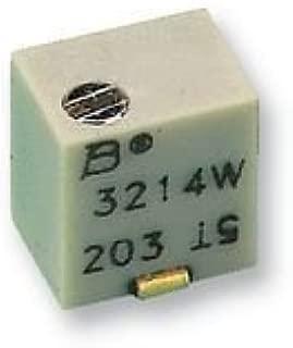 BOURNS 3214W-1-103E TRIMMER, POT, 10KOHM, 10%, 5TURN, SMD (250 pieces)
