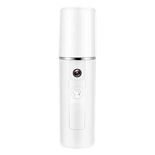 Nano vattenspray, ansiktsspray, USB dimmspruta kall känslig hud bärbar bekväm för alla omlopp, djuprengöring känslig hud 20 ml