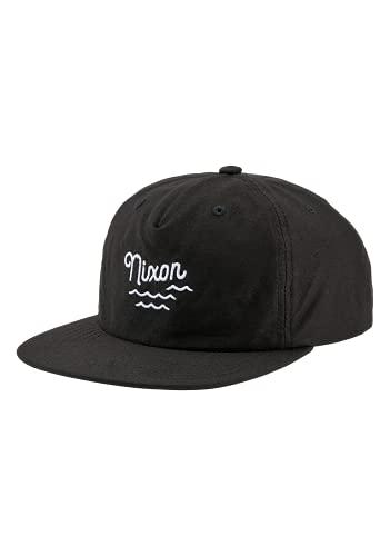 NIXON Quinny ストラップバック, ブラック, One Size