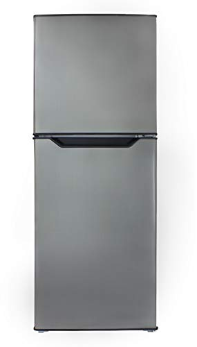 Danby DFF070B1BSLDB-6 7.0 Cu.Ft. Mid-Size Refrigerator, Frost-Free Apartment Fridge with Top...