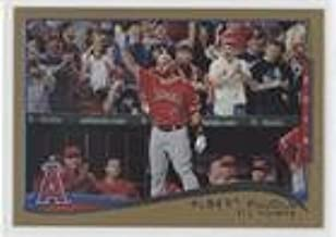 Albert Pujols; Checklist #87/2,014 (Baseball Card) 2014 Topps Update Series - [Base] - Gold #US-1