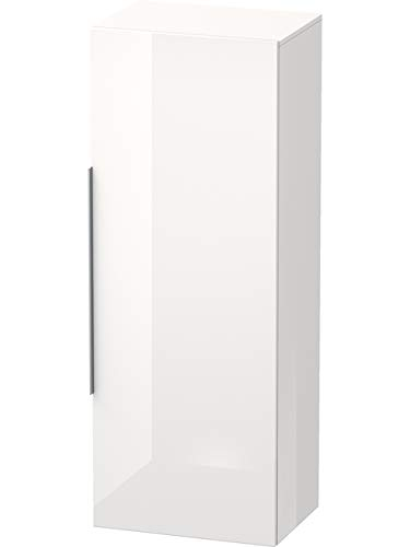 Duravit Happy D.2 halfhoge kast 500mm 9251, 1 deur, aanslag rechts, kleur (voor/corpus): Amerikaans notenhout echt fineer Eiche Dunkel Gebürstet Echtholzfurnier