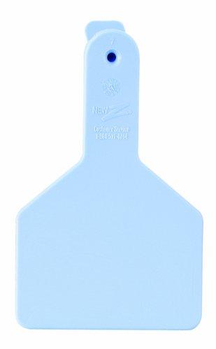 ZTags Lot de 25 étiquettes Vierges pour Mollets à col Long Bleu