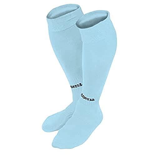 Joma Classic Calcetines de fútbol, Hombres, Azul Celeste, S
