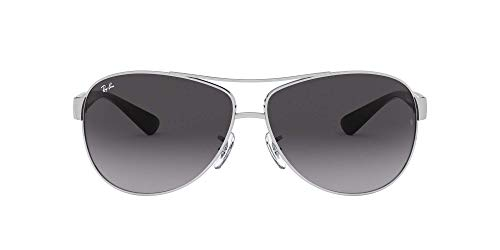 Ray Ban Sonnenbrille Metallic RB 3386 003/8G silber 67