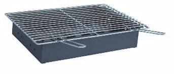 CARBOQUICK Cajón complemento para Barbacoa Gas con paellero y Parrilla. Regalo Caja de Autoencendido Ecológico Asador Portátil y Ligero de Carbón/Leña