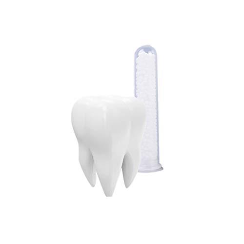 SuPVOX Zahnprothese, temporäre Zahnreparatur-Set, handgefertigte Zahnprothesen, Zähne, Füllmaterial, Zahnpflege, Weiß, 20 mg