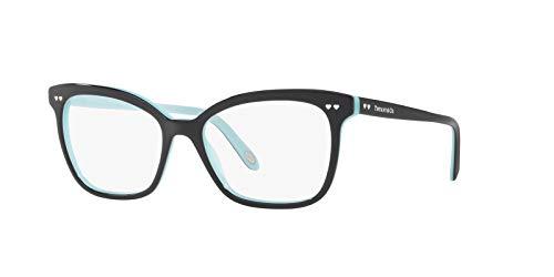 Tiffany & Co TF2155 - 8055 - Telaio per occhiali da vista nero/blu con lente demo trasparente, 52 mm