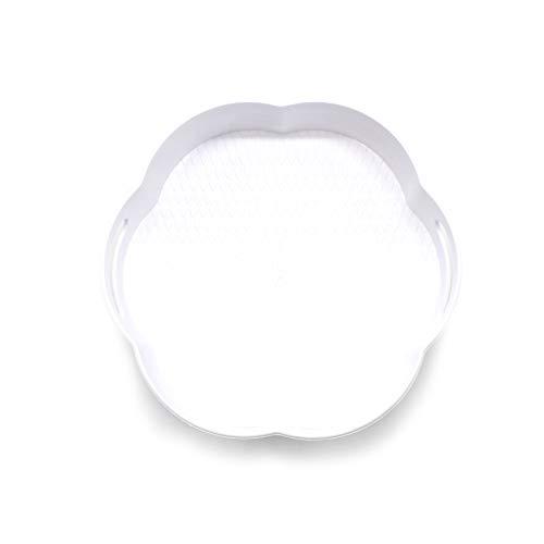 takestop® Organisateur en forme de fleur pour maquillage rotatif, accessoire gain de place