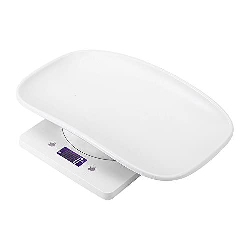 10kg/1g Petite Balance Numérique Smart Peser Confort Balance électronique pour Animaux de Compagnie avec Plateau de Hauteur Pour Chats Chiens Outil...