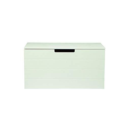 Alfred & Compagnie Coffre 80x42x42 bois massif blanc