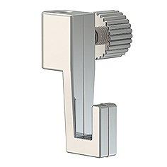 Imagen ganchos para rieles de imágenes, 10Juego de barras de colgadores para rieles galería/Galería ajustables, Capacidad de Carga hasta 4kg