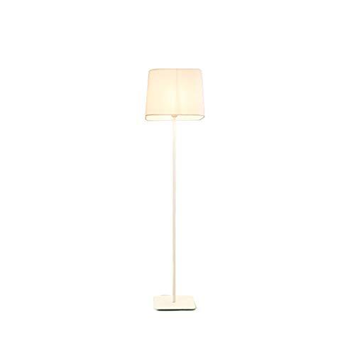 Staande lamp Ins Wind Nordic vloerlamp slaapkamer bedlampje LED verticale tafellamp creatief vierkant design zwart wit De totale hoogte is 146 cm