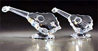 Asfour Crystal 225-2.5 3.85 L x 1.69 H in. Crystal Lute Music Figurines