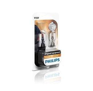 PHILIPS 12067B2 W16W 12V 16W W2,1x9,5d Vision Doppelblister TFL Standlicht Blink