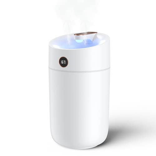 Humidifiers for Bedroom ONGAHON 3L Small to Large Room Portable USB...