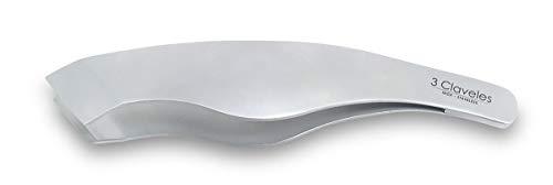 3 Claveles Pinzas Pescado o Jamón, Acero Inoxidable-(14cm), 14 cm
