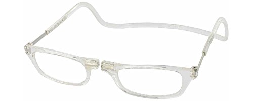 Clic Magnetic Reading Glasses in Clear ; +1.50