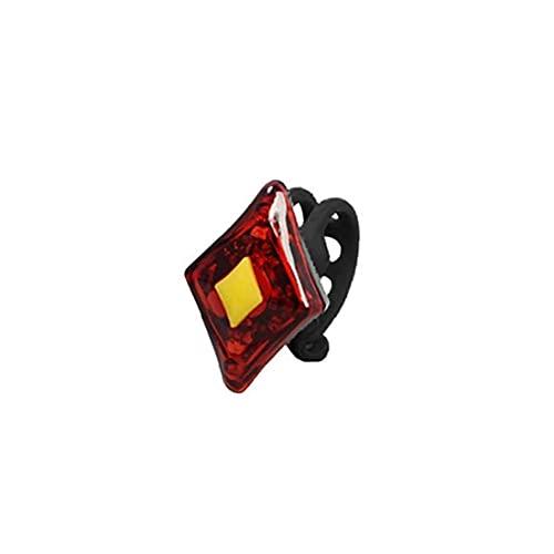 Liadance 2 LED vélo Retour sécurité Bright Lights éclairage vélo Avant arrière Compact Facile à Installer à vélo Lumières pour Mountain Roads Nuit à vélo USB de Charge Rouge