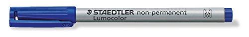 Staedtler 315-3 Permanent-Marker 100, Rundspitze, Blau