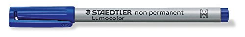 Staedtler 315-3 non-permanent Marker 100, Rundspitze, blau
