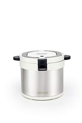 Lowest Prices! Tayama therma TXM-70XL Energy-Saving Thermal Cooker 7-Qt, White