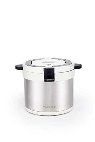 Tayama therma TXM-70XL Energy-Saving Thermal Cooker 7-Qt, White