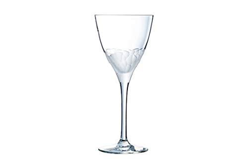 Cristal d'Arques L6726 Set de 6 Verre à Pied, Cristallin, Transparent, Taille Unique