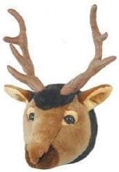 Carstens, Inc Wall Décor Friendly Faces Mini Elk Plush Animal Trophy Mount