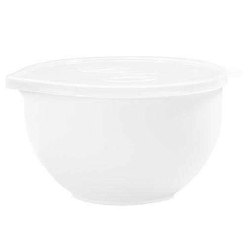 Plast Team 25010803super Bowl, 0.4l, in polipropilene, bianco
